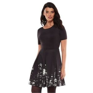 Ellie Tahari for Design Nation fit & flare dress